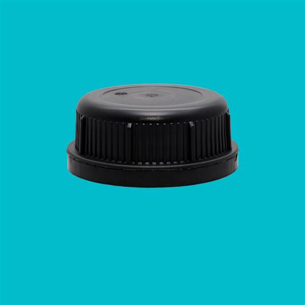 Cap 61mm Tamper Evident Black