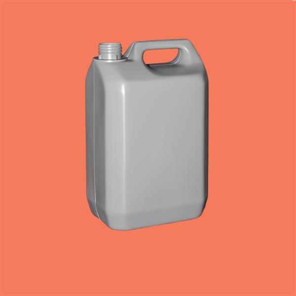 Jerrycan 5000ml Tamper Evident Recycled HDPE Natural 38mm
