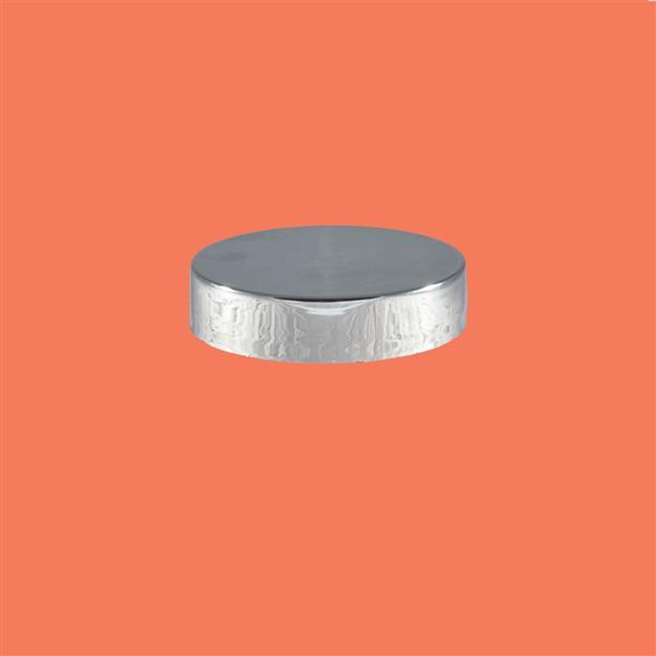 Cap 48mm 400 Wadded Polypropylene Silver