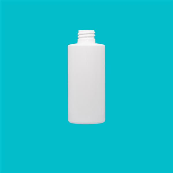 Bottle 100ml Tubular PET White 20mm