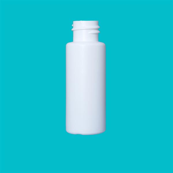 Bottle 30ml Bore Seal HDPE White 20mm