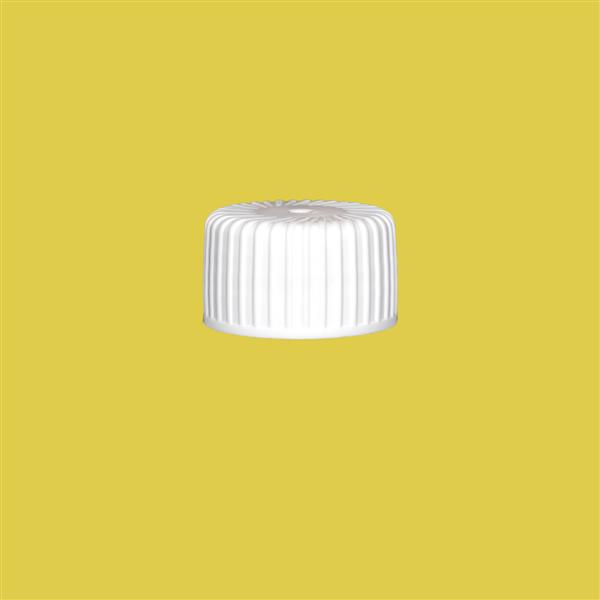 Cap 24mm Induction Heat Seal (for PET) White