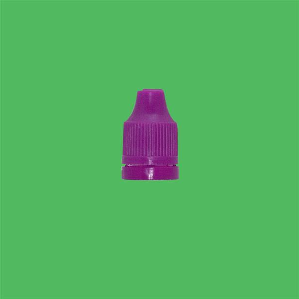 Cap 12mm Two Part Child Resistant Tamper Evident Purple