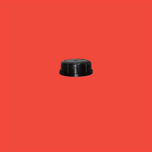 Cap 59mm 410 Tamper Evident Black