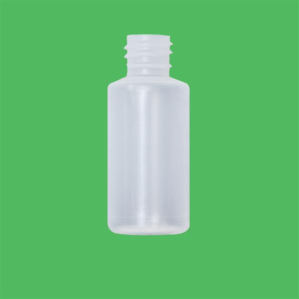 Bottle 30ml Cylinder LDPE Natural 18mm