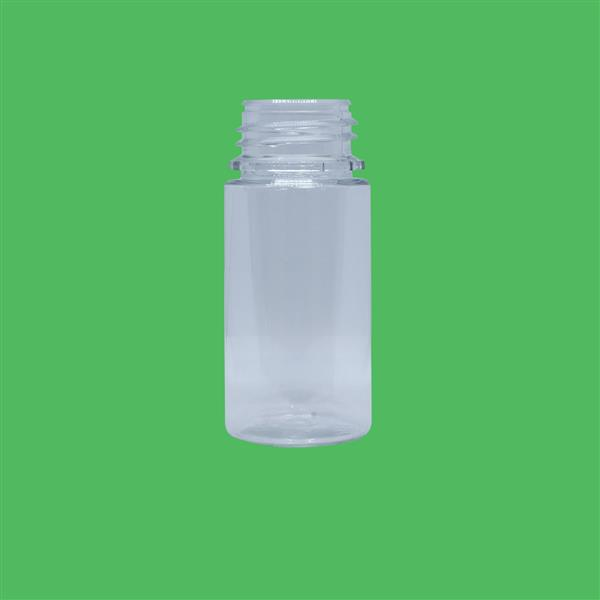 Bottle 100ml Husky Tamper Evident PET Clear 34mm