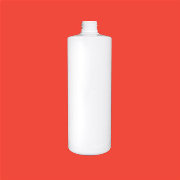 Bottle 250ml Tubular PET White 24mm