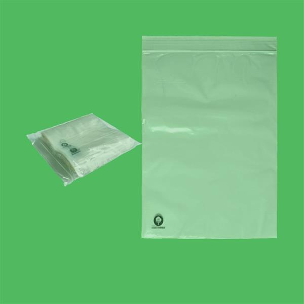 "Biodegradable Gripseal Bag 8"" X 11"""