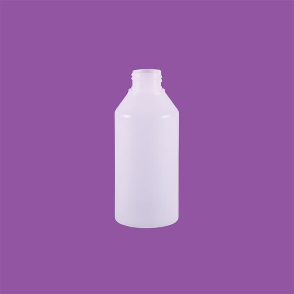 Bottle 150ml Swipe HDPE Natural 24mm