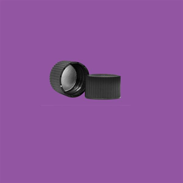 Cap 28mm Induction Heat Seal (For HDPE) Black