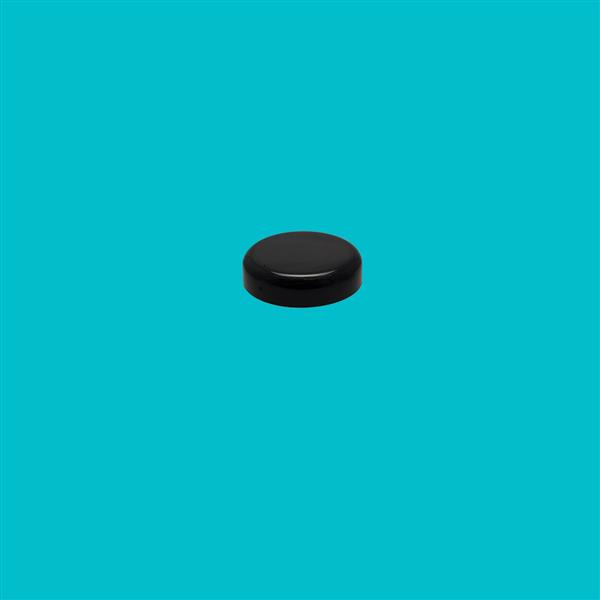 Cap 29mm (For 5ml Jar) Bore Seal Polypropylene Black