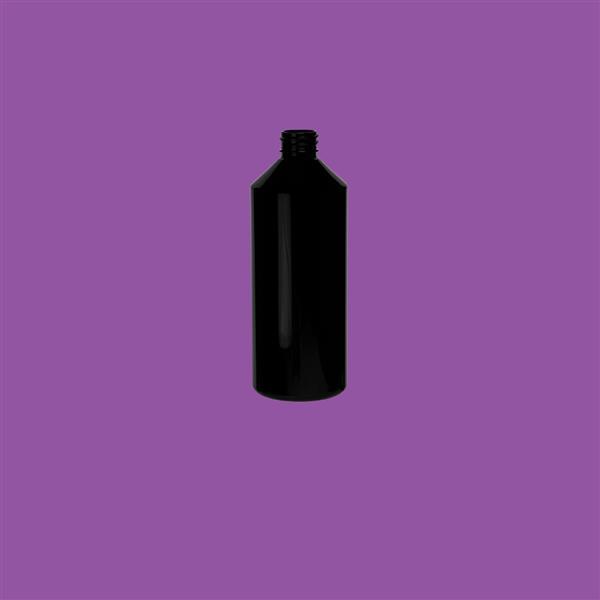 Bottle 500ml Swipe PET Black 28mm