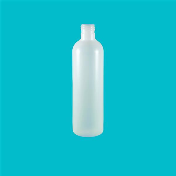 Bottle 250ml Tall Boston HDPE Natural 24mm 415