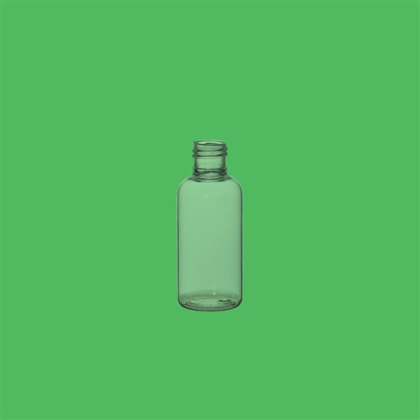 Bottle 25ml Boston Round PET Clear 15mm 415