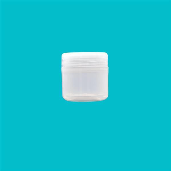 Jar 50ml Double Wall Polypropylene Natural