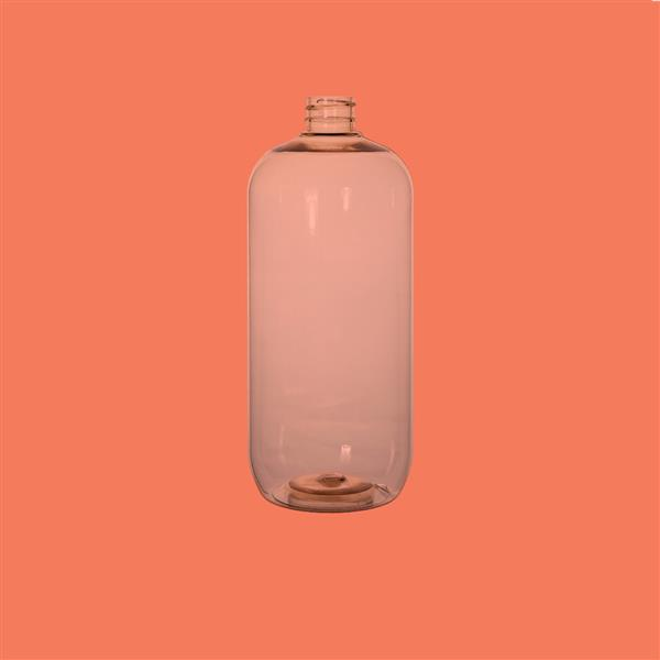 Bottle 1000ml Boston Recycled PET Natural 28mm