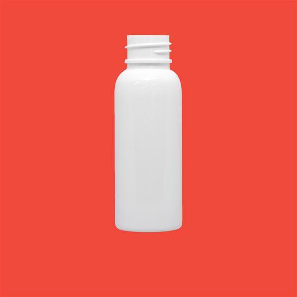 Bottle 30ml Boston Round PET White 20mm