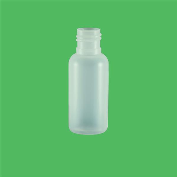 Bottle 15ml Boston HDPE Natural 15mm 415