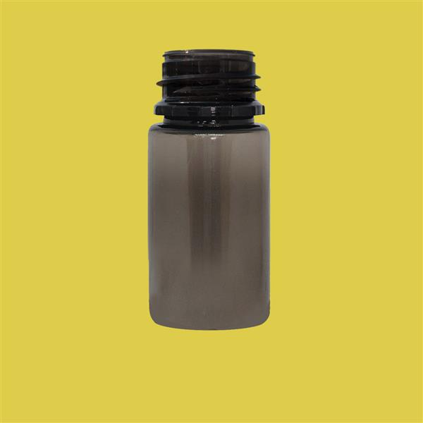 Bottle 30ml Husky Tamper Evident Squat PET Smokey 23mm