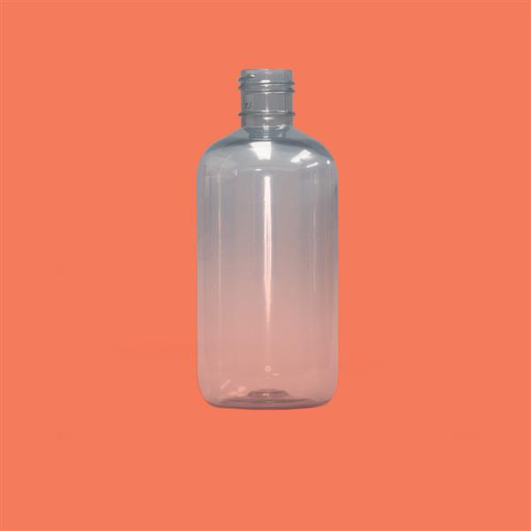 Bottle 250ml Boston Recycled PET Natural 24mm 415