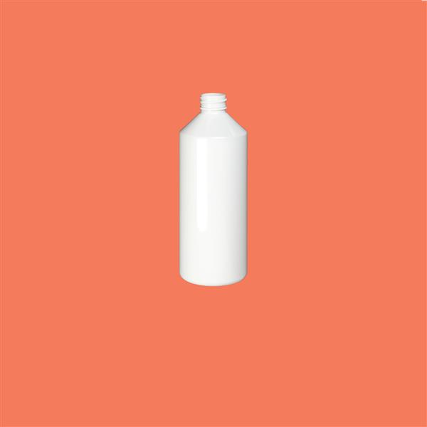 Bottle 500ml Swipe PET White 28mm