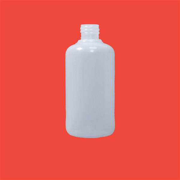 Bottle 125ml Boston Round MDPE Natural 20mm