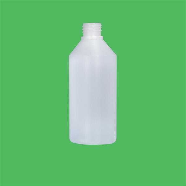 Bottle 250ml Swipe HDPE Natural 24mm
