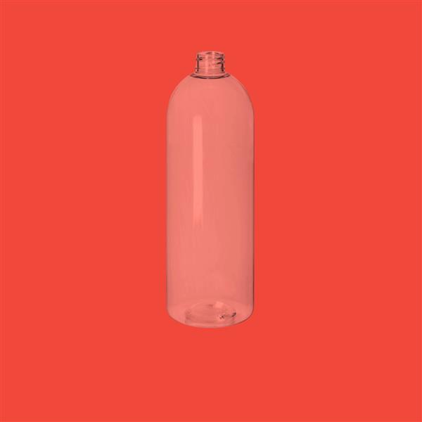 Bottle 1000ml Tall Boston PET Clear 28mm