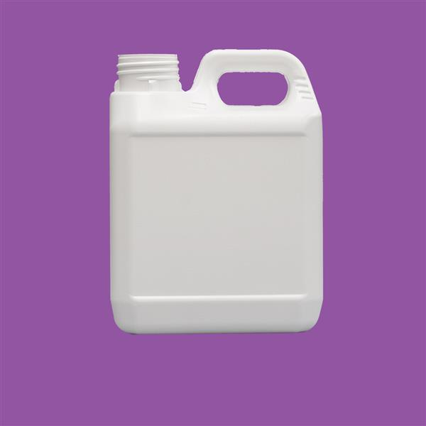 Jerrycan 1000ml Tamper Evident HDPE White 38mm