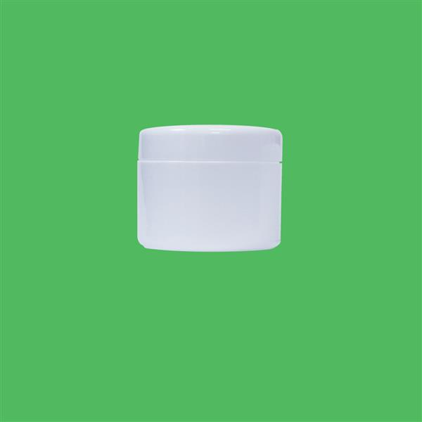 Jar 120ml Double Wall Polypropylene White