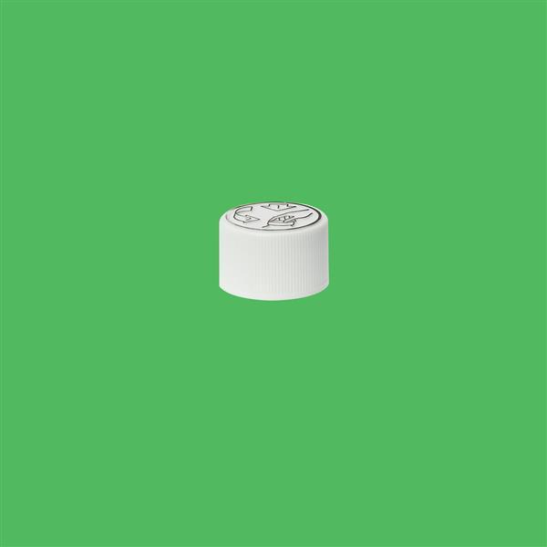 Cap 20mm Child Resistant White