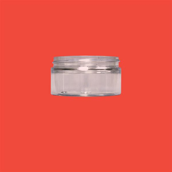 Jar 100ml Squat PET Clear 70mm