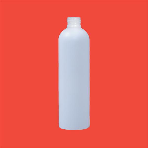 Bottle 250ml Tall Fluorinated HDPE Natural 24mm