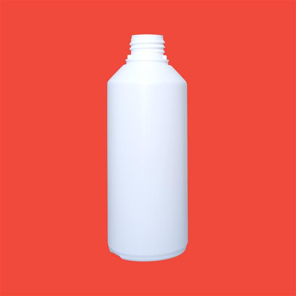 Bottle 500ml Swipe Tamper Evident HDPE White 32mm