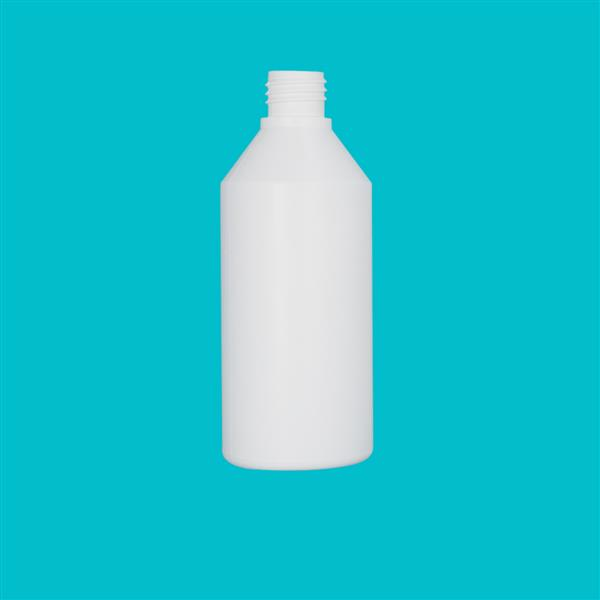 Bottle 250ml Swipe HDPE White 24mm