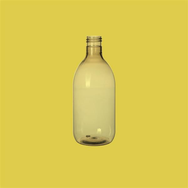 Bottle 300ml Sirop Recycled PET Natural 24mm 415