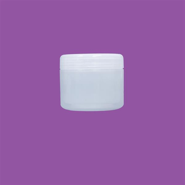 Jar 120ml Double Wall Polypropylene Natural