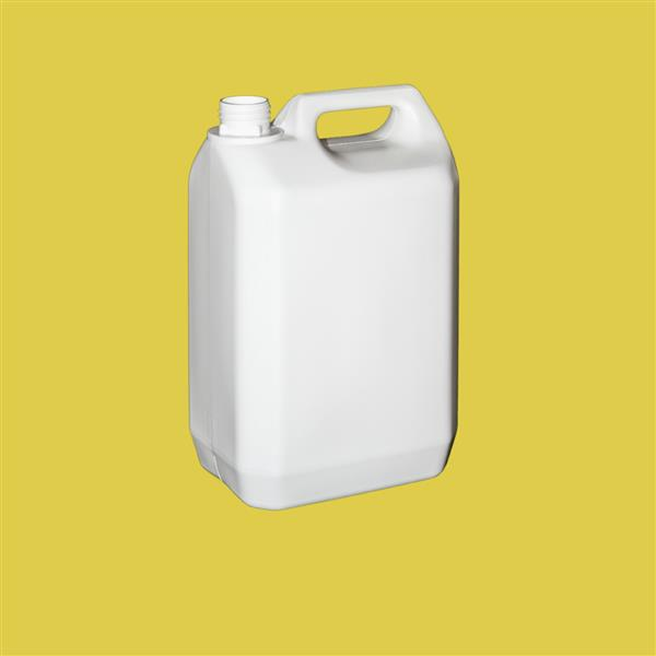 Jerrycan 5000ml Tamper Evident HDPE White 38mm