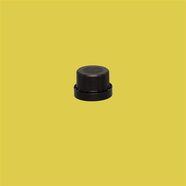 Cap 32mm 410 Tamper Evident Wadded Black