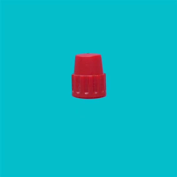 Cap 18mm Pointed Cap Red