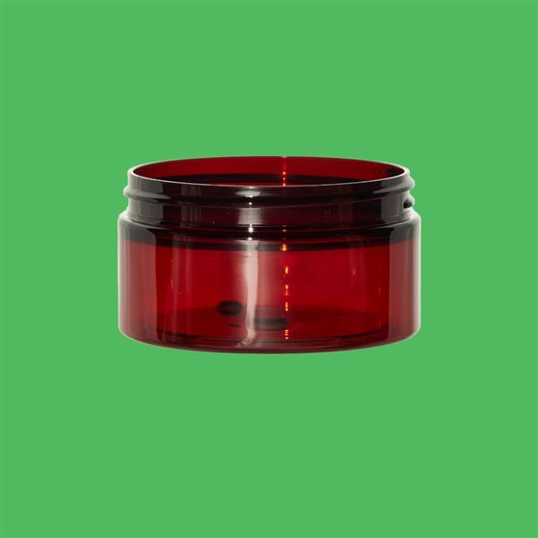 Jar 100ml PET Amber 70mm