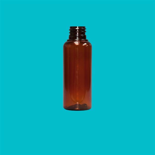 Bottle 50ml Tall PET Amber 20mm